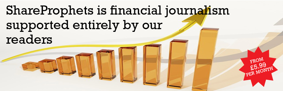 ShareProphets is financial journalism supported entirely by your  membership